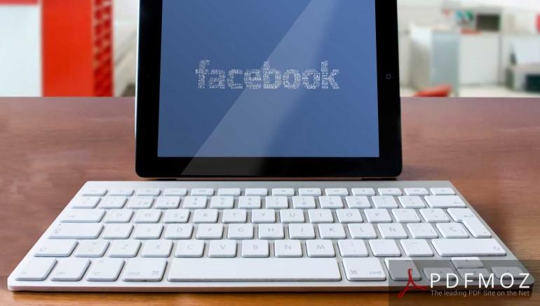PDF to Facebook